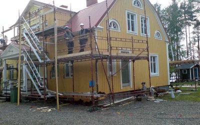 Upprustning av Tåsjö Prästgård